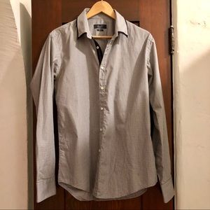 Zara Man - slim fit button down shirt Sz L